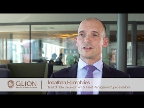 Jonathan Humphries has been appointed as the Head of Specializations at Glion Institute of Higher Education
