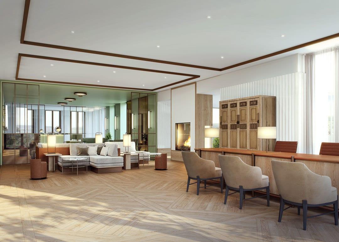 Alex Lake Zurich - Interior design