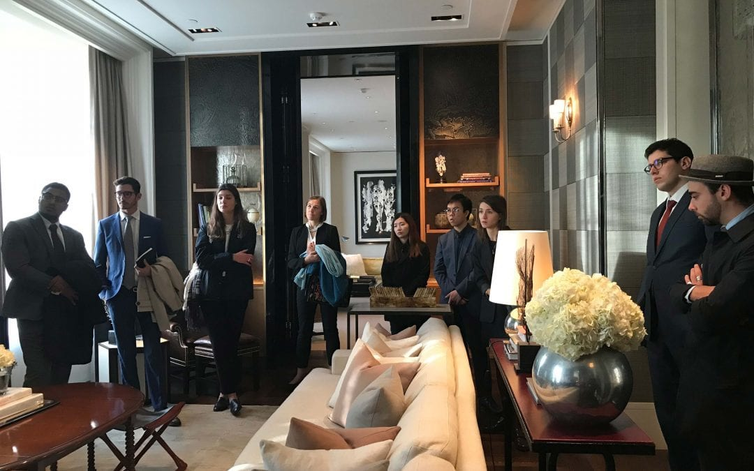 London Fieldtrip – Glion's International Hotel Development and Asset Management Specialization