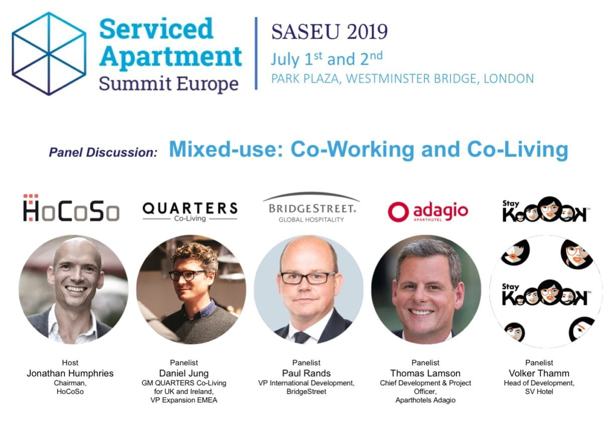 SERVICED APARTMENT SUMMIT 2019 PANEL DISCUSSION