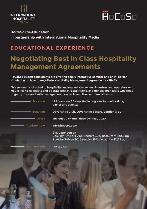 HoCoSo Co-Education Seminar - Negotiating Best-in-Class HMA's