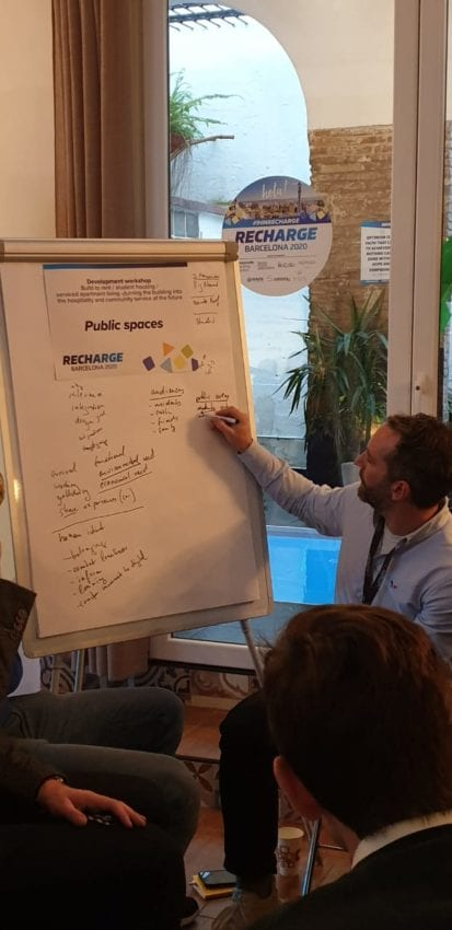 Jan Garde of the Embassies of Good Living for Public Spaces