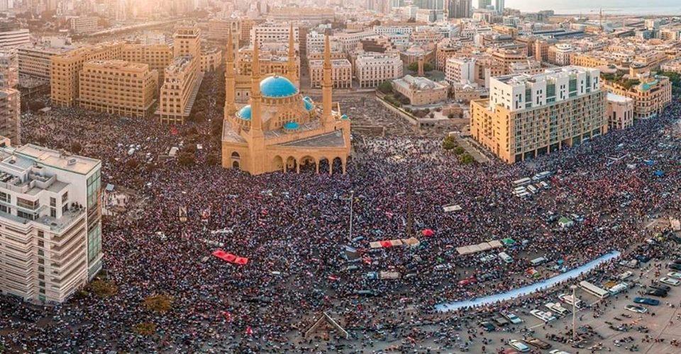 Beirut Protests October 2019