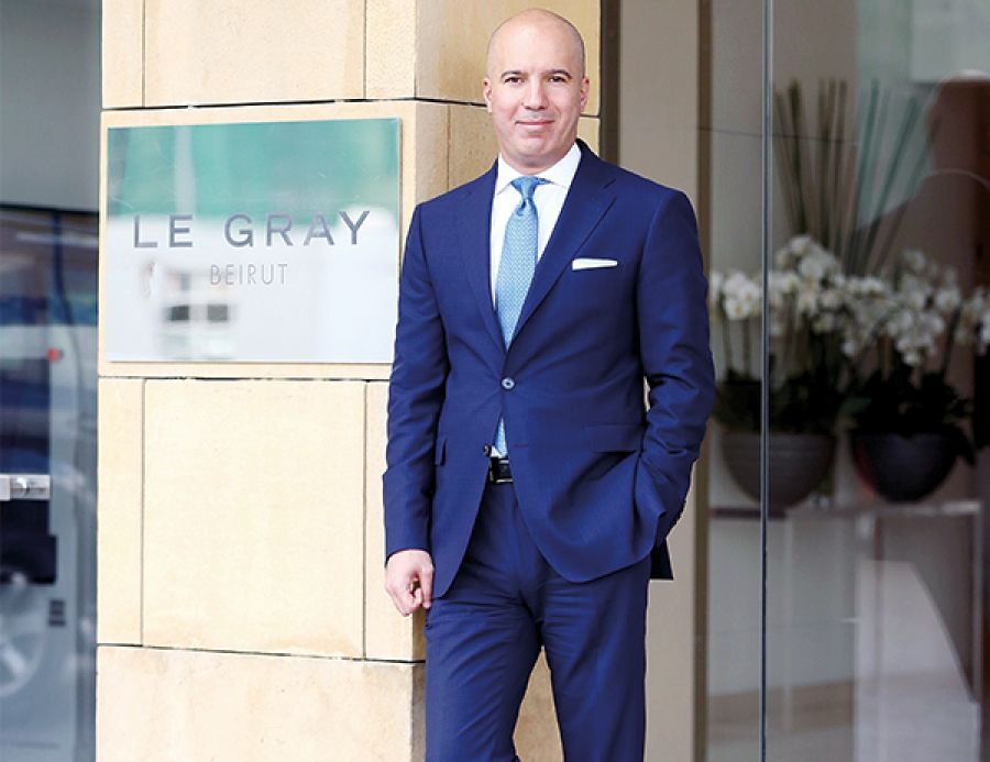 George Ojeil - Area General Manager for Le Gray Beirut