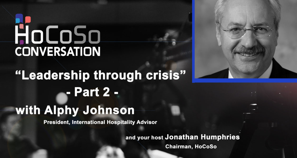 HoCoSo CONVERSATION - Part 2 with Alphy Johnson - Leadership through crisis - Financial crisis in Indonesia