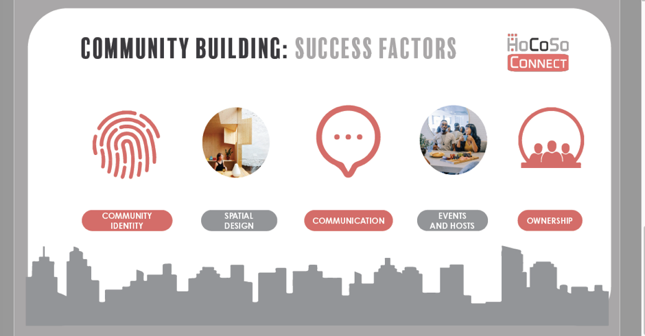 Community building success factors - HoCoSo CONNECT