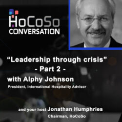 Podcast Leadership through crisis - Part 2 - with Alphy Johnson