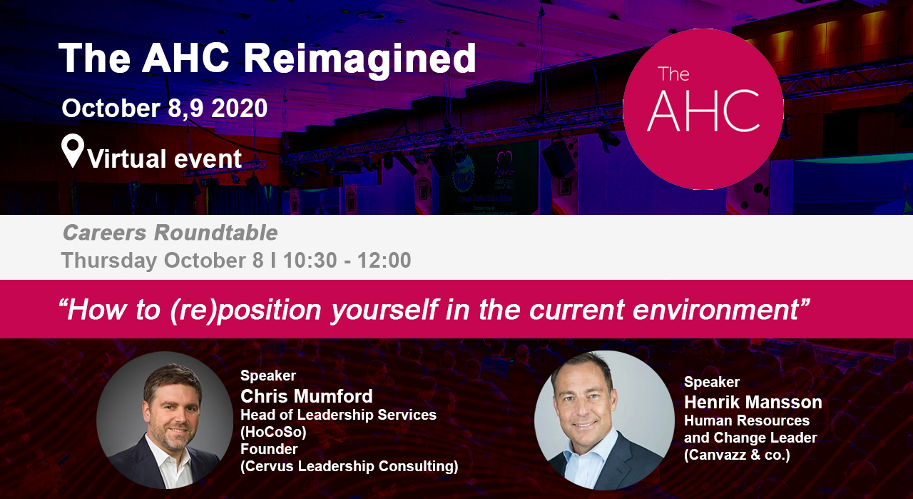 The AHC Reimagined - Career Roundtable - job seeking process