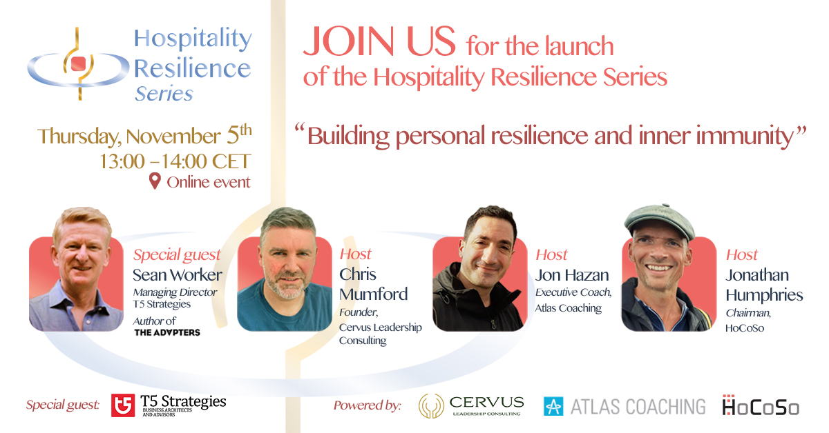 Hospitality Resilience Series - with Sean Worker