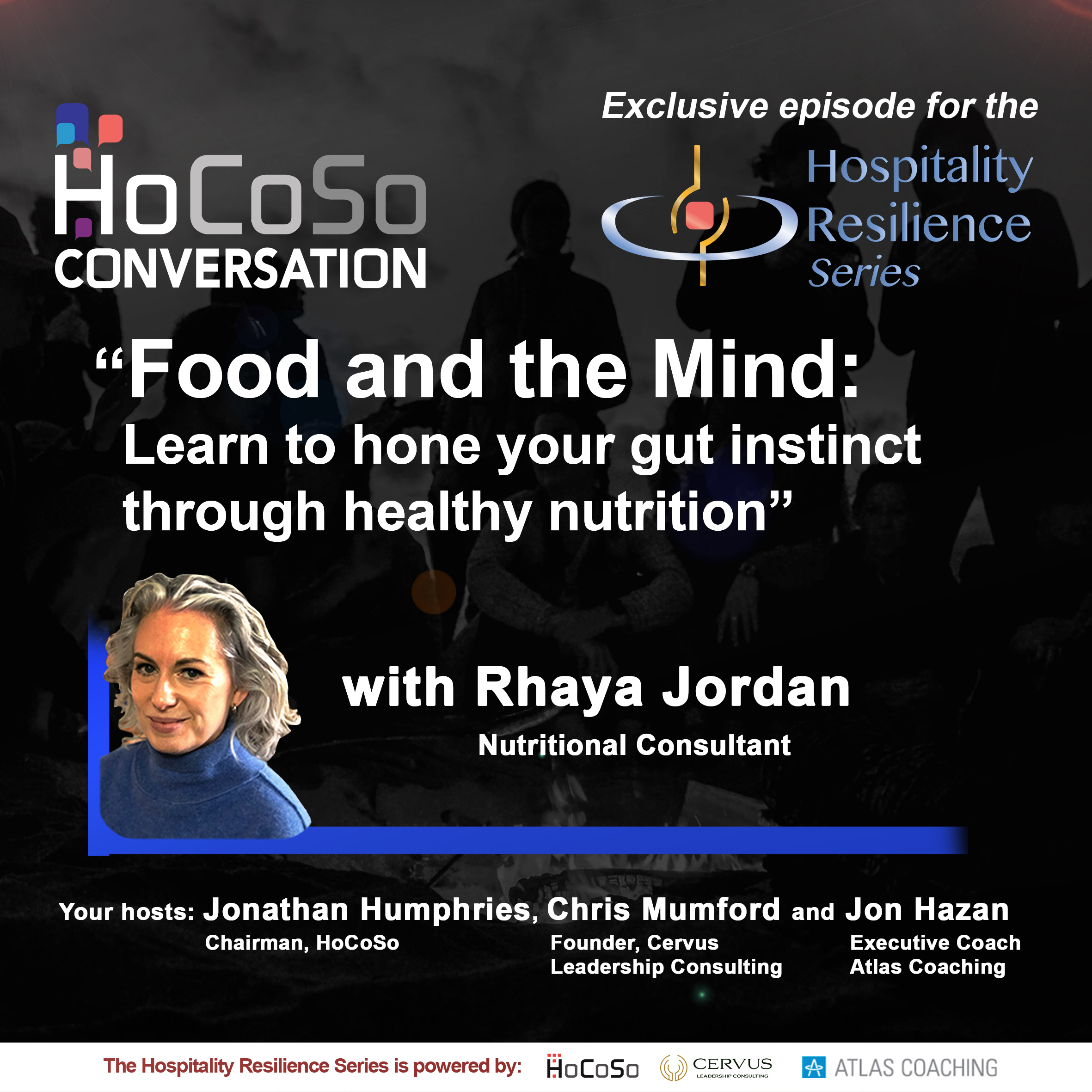 Podcast Food and the Mind with Rhaya Jordan