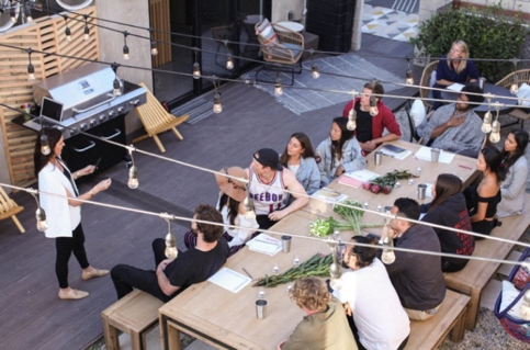 Community event at Haven Coliving (2020)