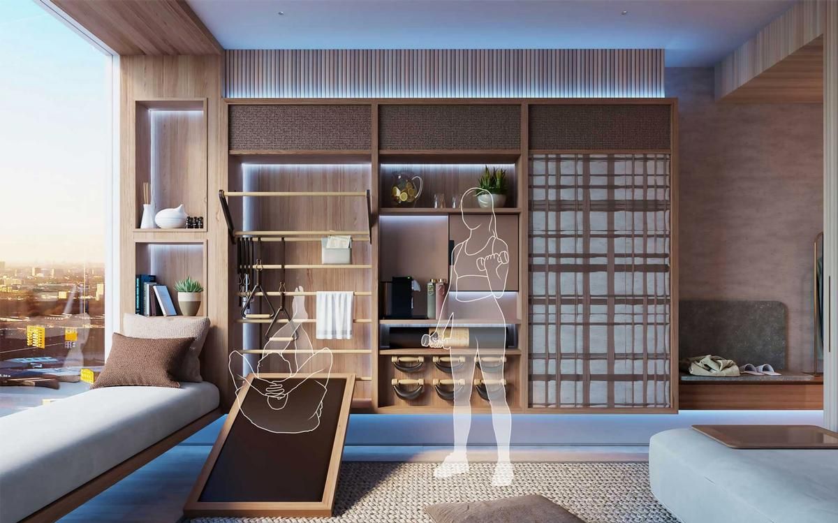 Heya – a hotel room concept for 2035 - PIC 3