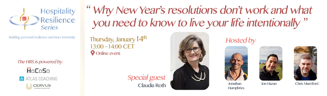 The Hospitality Resilience Series - Session 3 with Claudia Roth