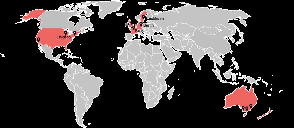 Counter urbanisation map