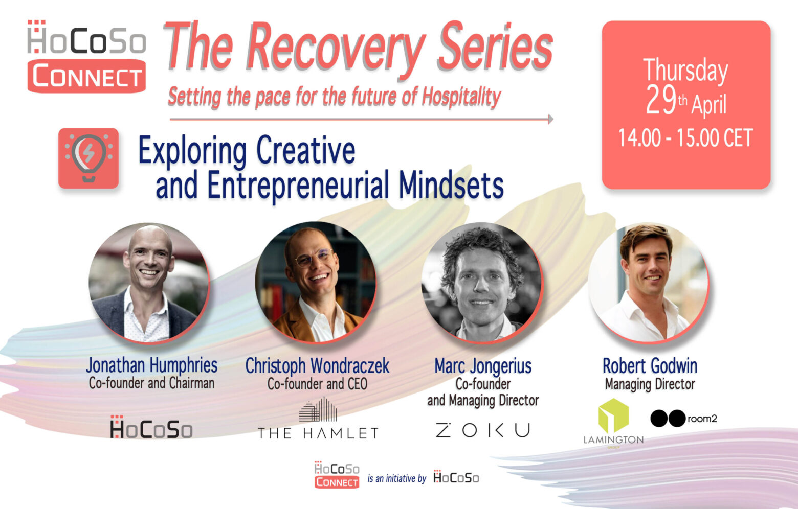 Creativity and Innovation - HoCoSo CONNECT Recovery Series