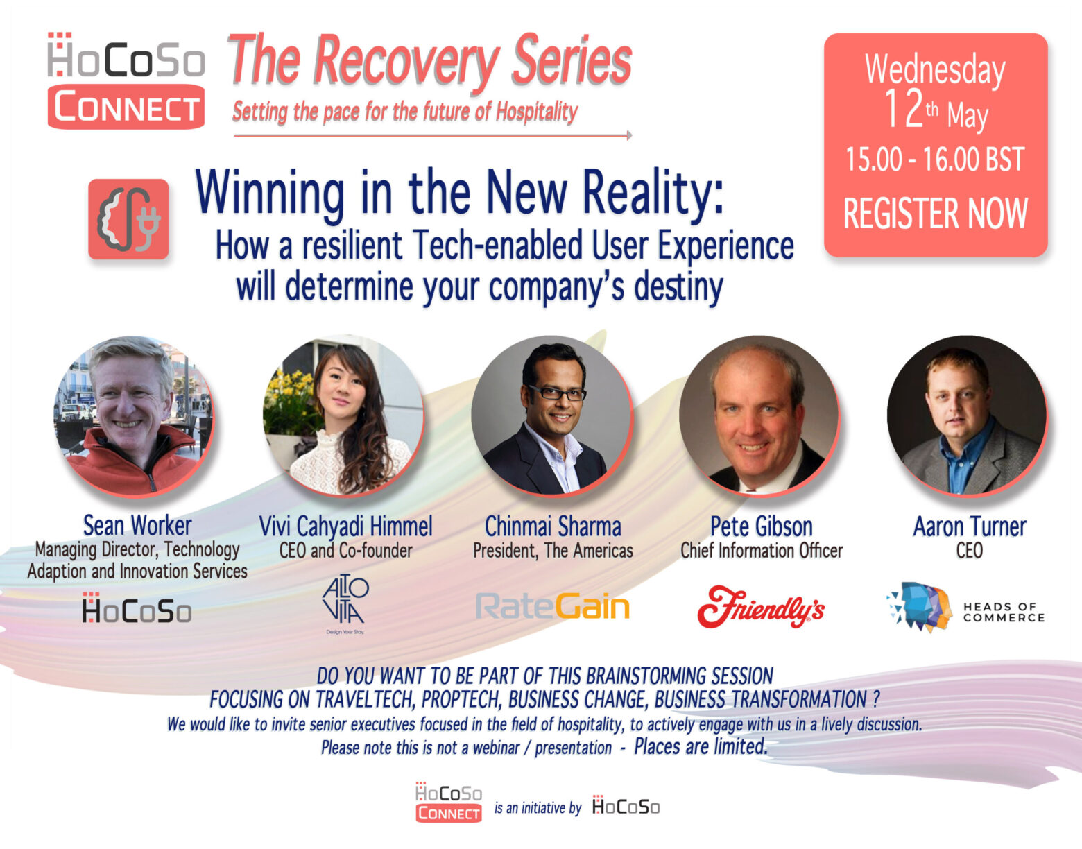 On Technology, Adaption and Innovation - HoCoSo CONNECT Recovery Series