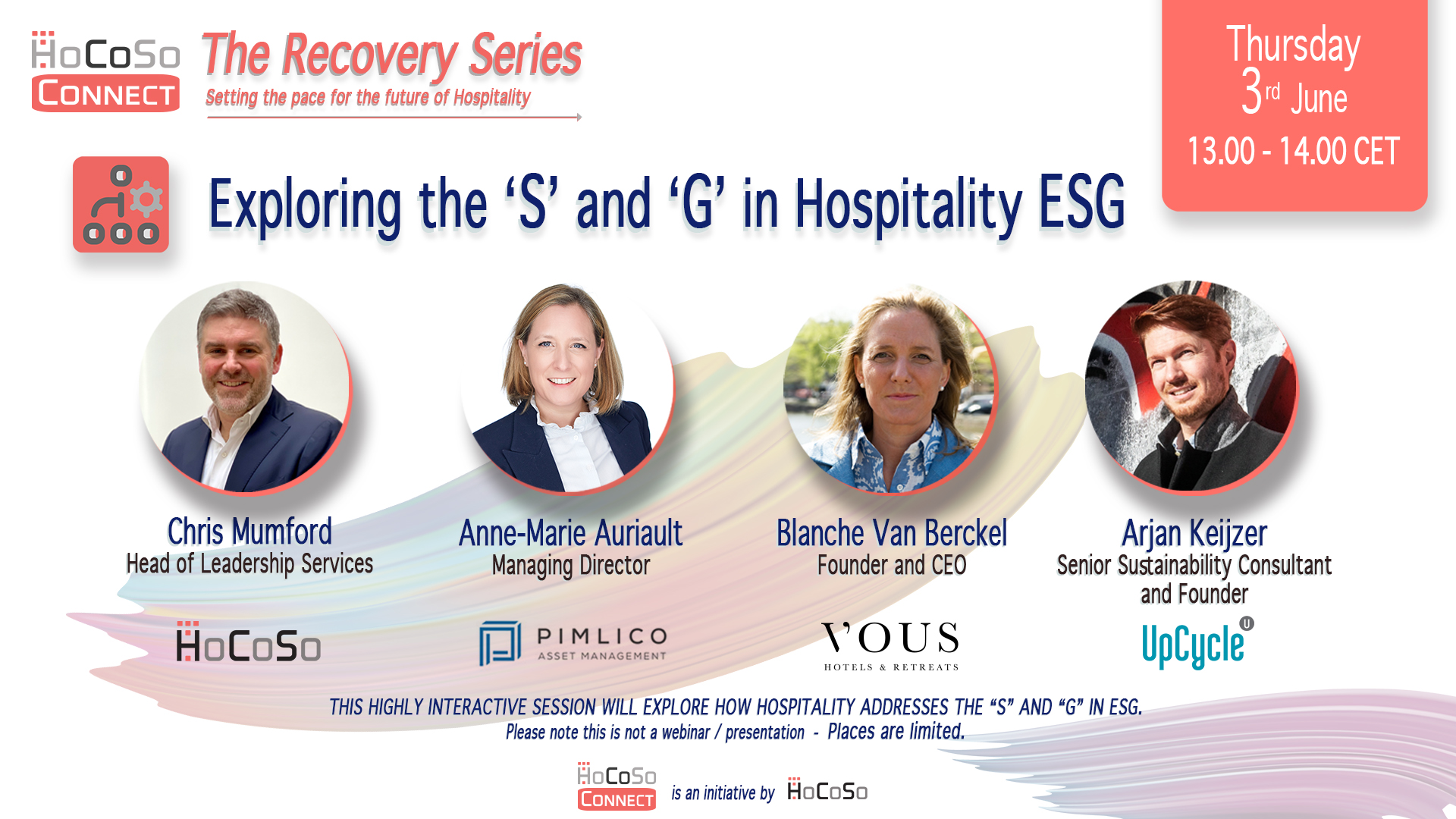 The S in Hospitality ESG - HoCoSo CONNECT Recovery Series
