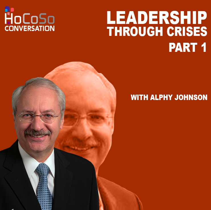 Podcast Leadership through crisis - Part 1 - with Alphy Johnson