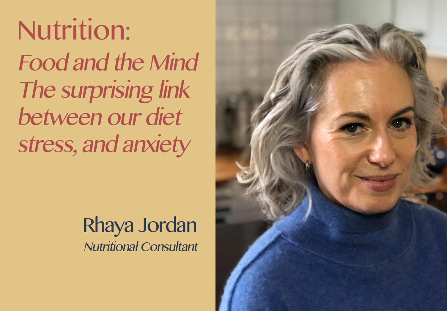 The Hospitality Resilience Series on Nutrition with Rhaya Jordan
