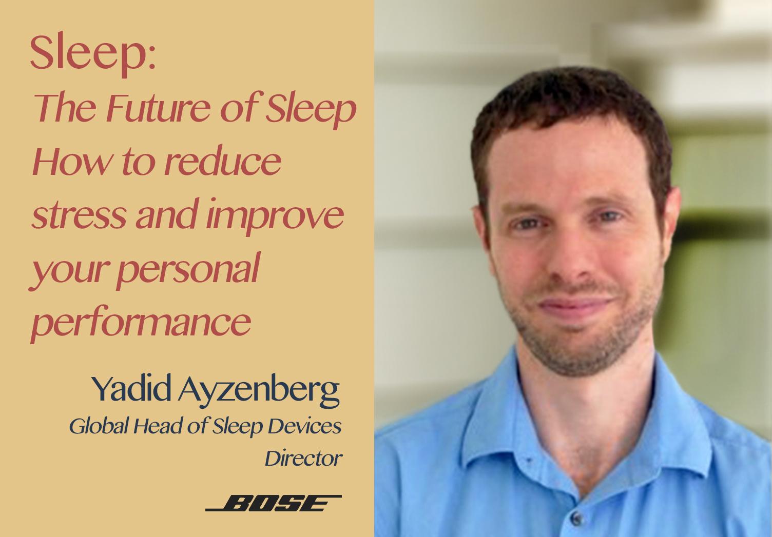The Hospitality Resilience Series on Sleep with Yadid Ayzenberg