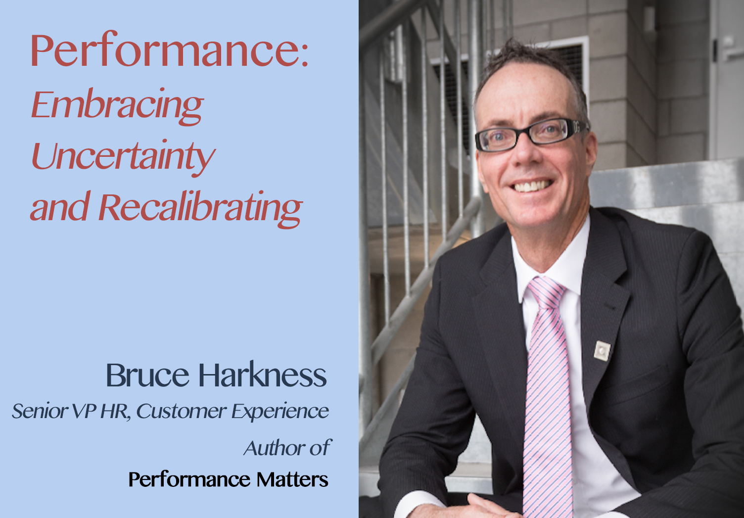 The Hospitality Resilience Series on Performance with Bruce Harkness