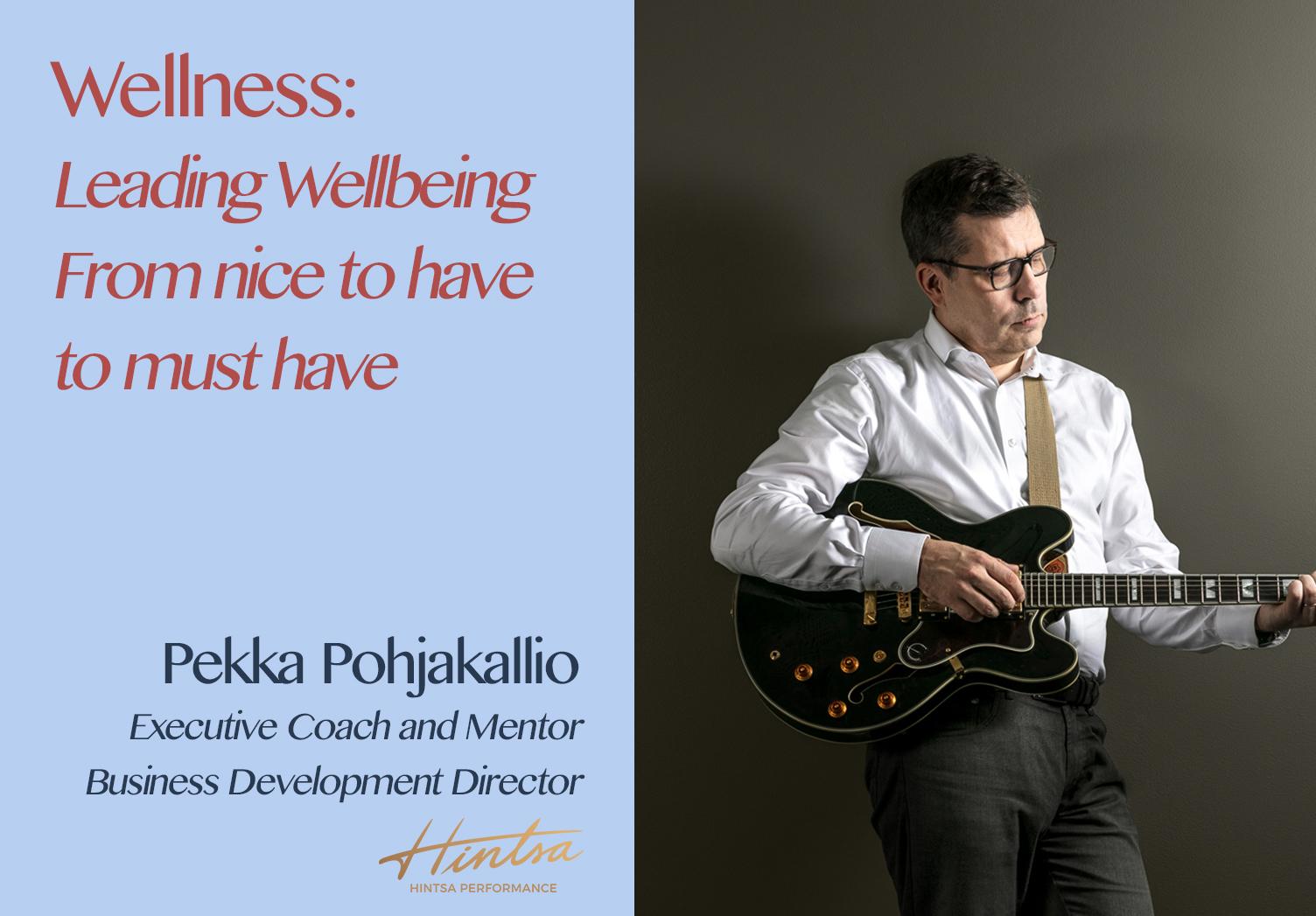 Hospitality Resilience Series on Wellbeing with Pekka Pohjakallio